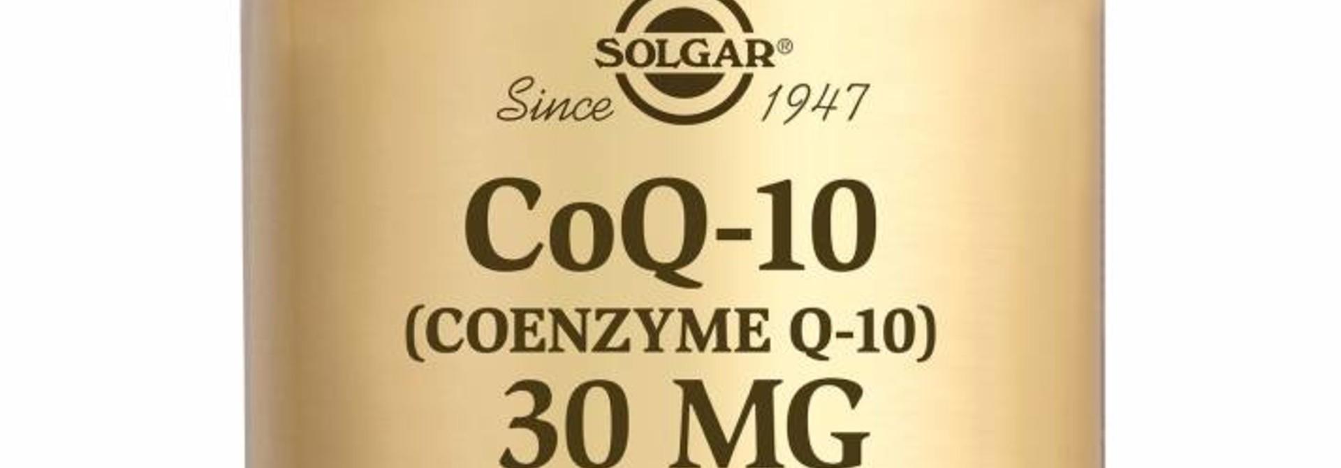 Co-Enzyme Q-10 30 mg 30 plantaardige capsules