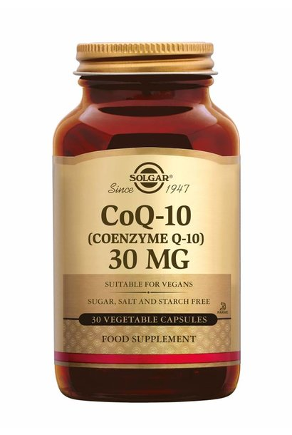Co-Enzyme Q-10 30 mg 30 plantaardige capsules
