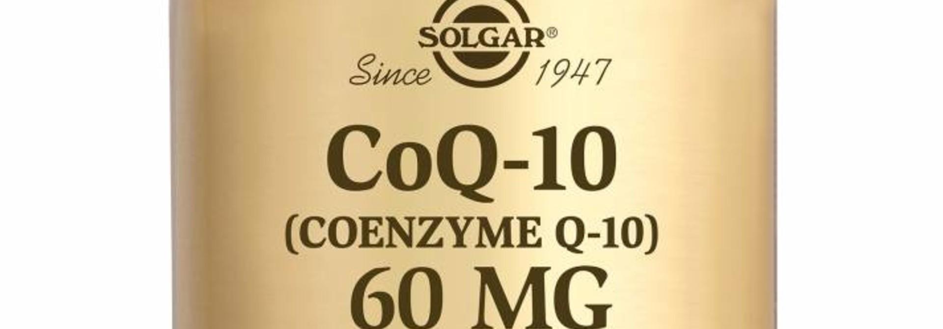 Co-Enzyme Q-10 60 mg 30 plantaardige capsules