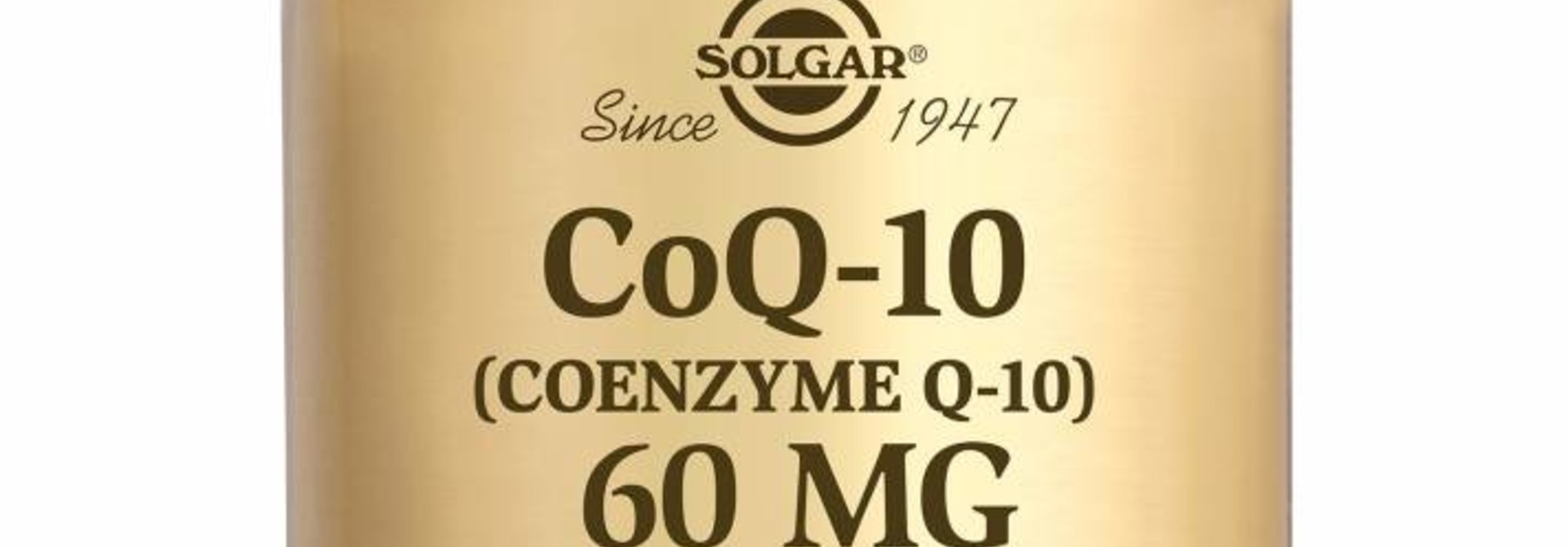 Co-Enzyme Q-10 60 mg 60 plantaardige capsules