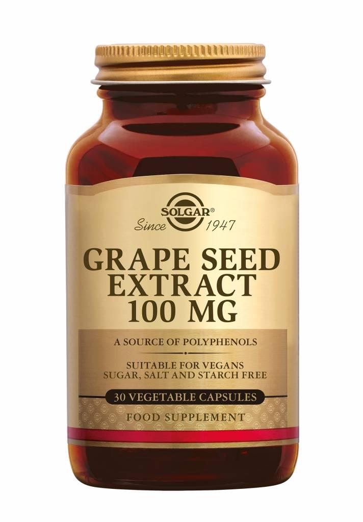 Grape Seed Extract 100 mg 30 plantaardige capsules-1