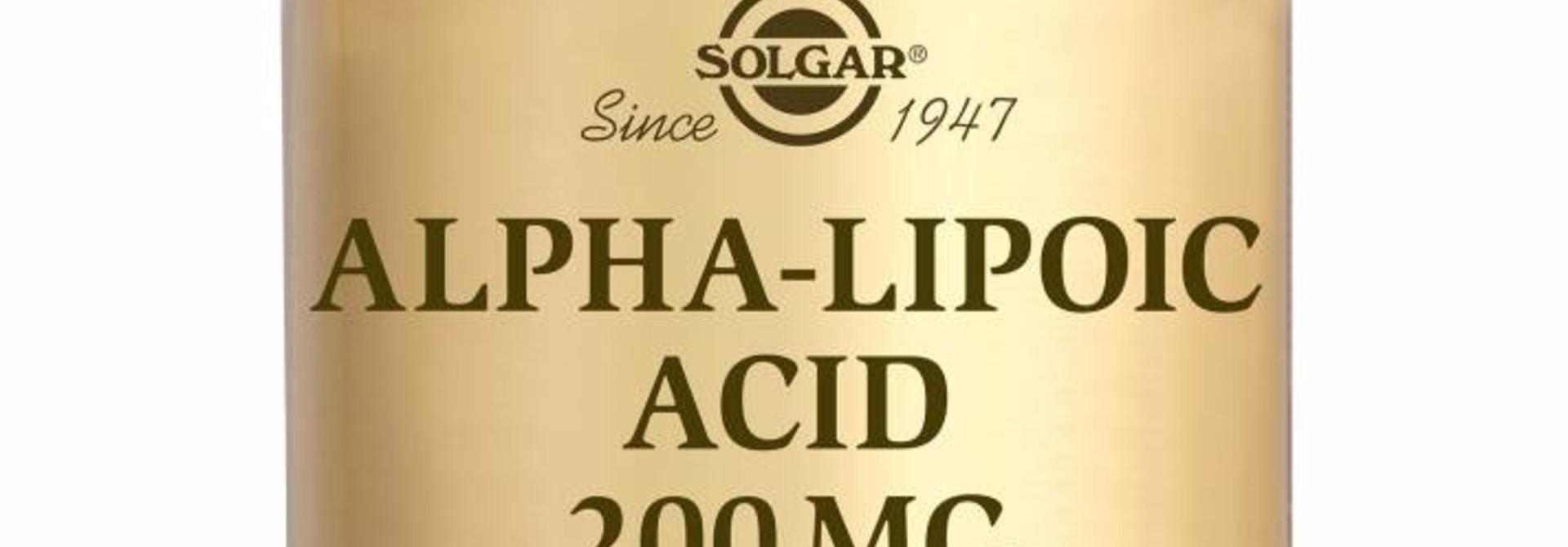 Alpha Lipoic Acid 200 mg 50 plantaardige capsules