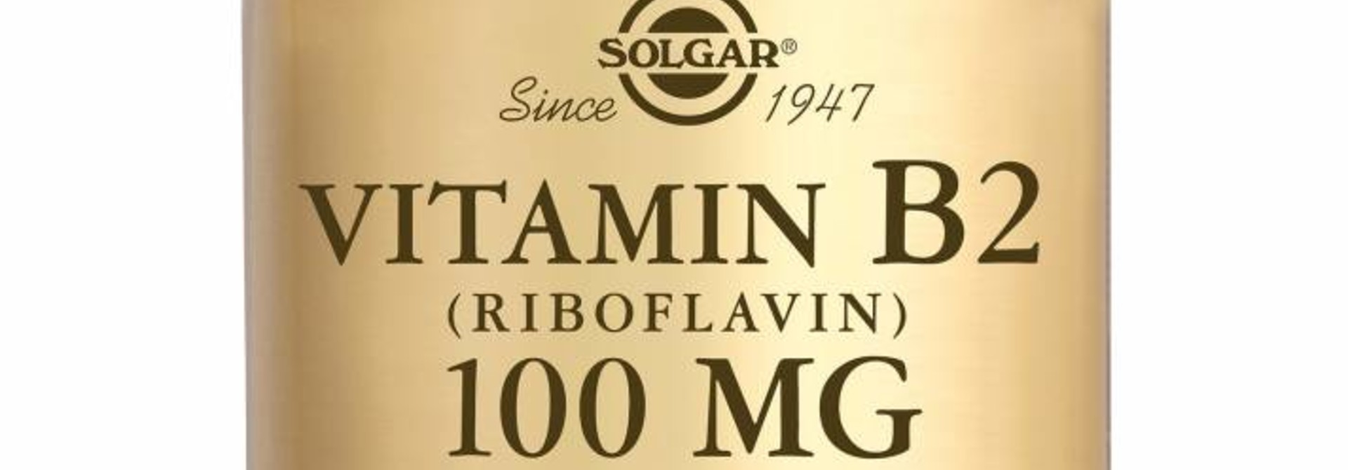Vitamin B-2 100 mg 100 plantaardige capsules