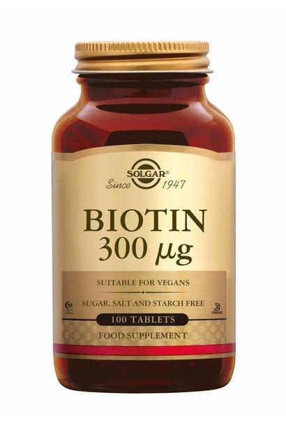 Biotin 300 µg 100 tabletten