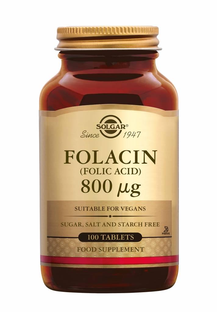 Folacin 800 µg 100 tabletten-1
