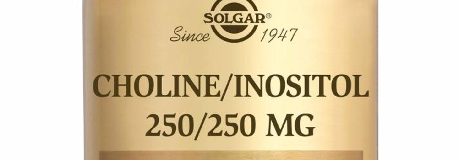 Choline/Inositol 250/250 50 plantaardige capsules