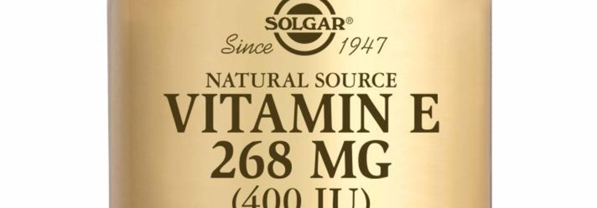 Vitamin E 268 mg/400 IU Complex 100 softgels