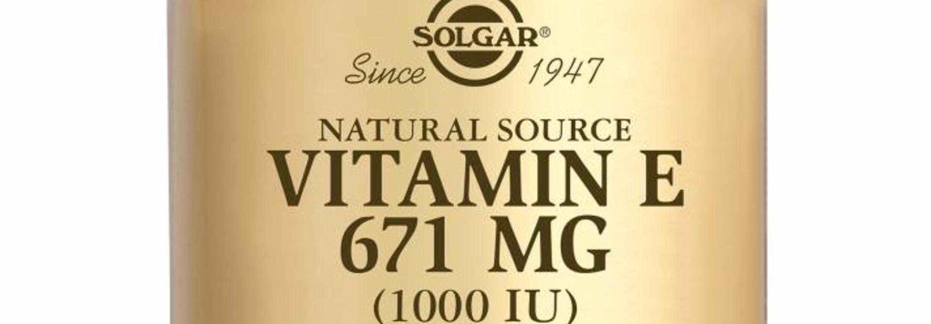 Vitamin E 671 mg/1000 IU Complex 50 softgels