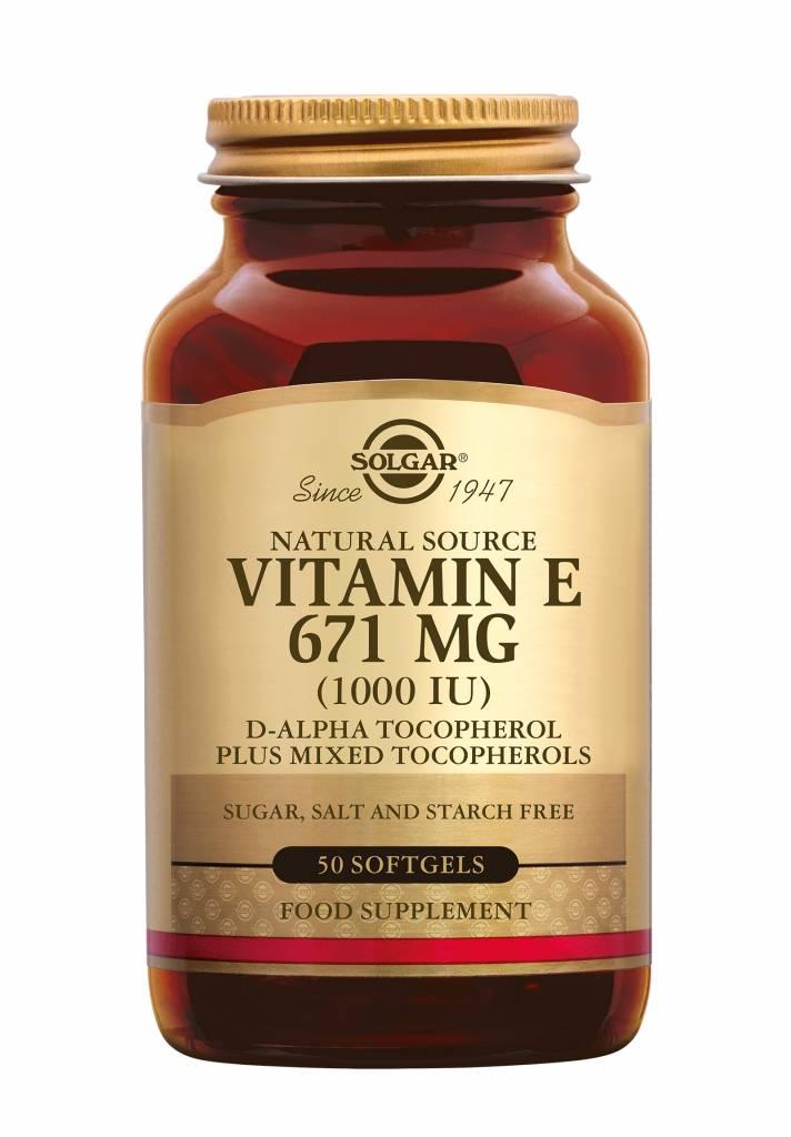 Vitamin E 671 mg/1000 IU Complex 50 softgels-1
