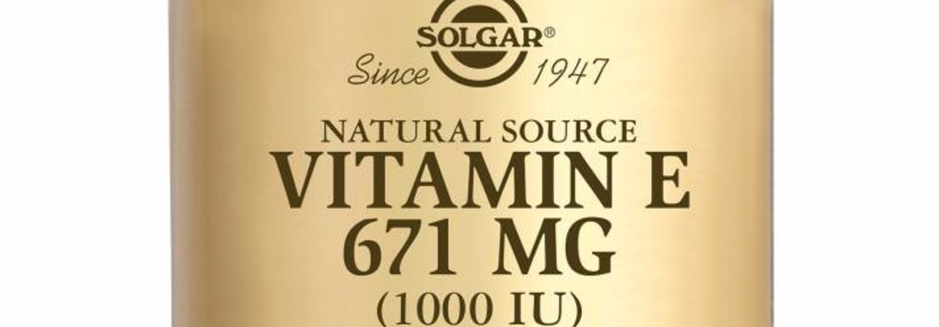 Vitamin E 671 mg/1000 IU Complex 100 softgels