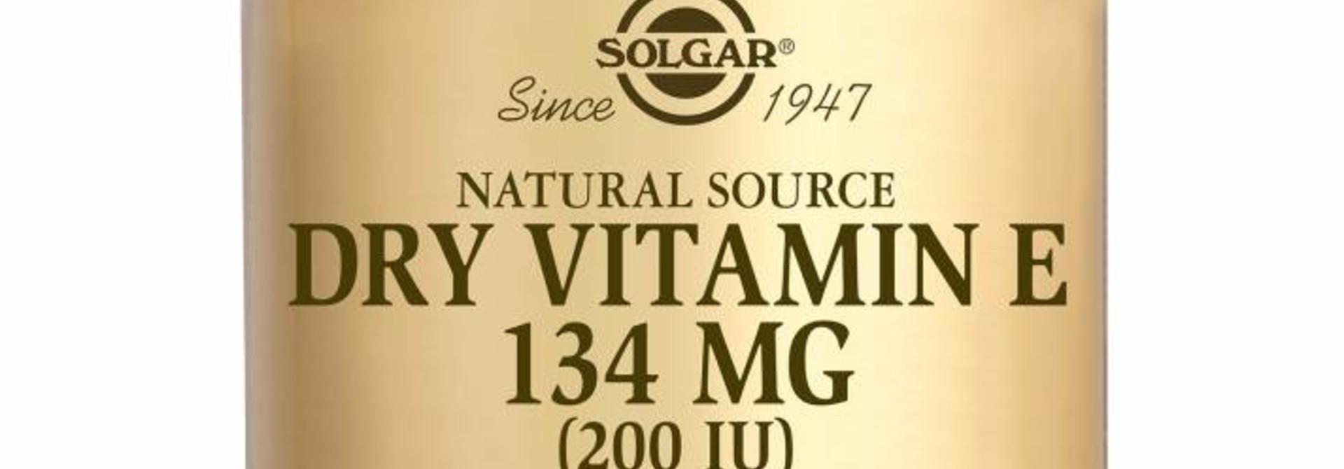 Vitamin E 134 mg/200 IU Dry 50 plantaardige capsules