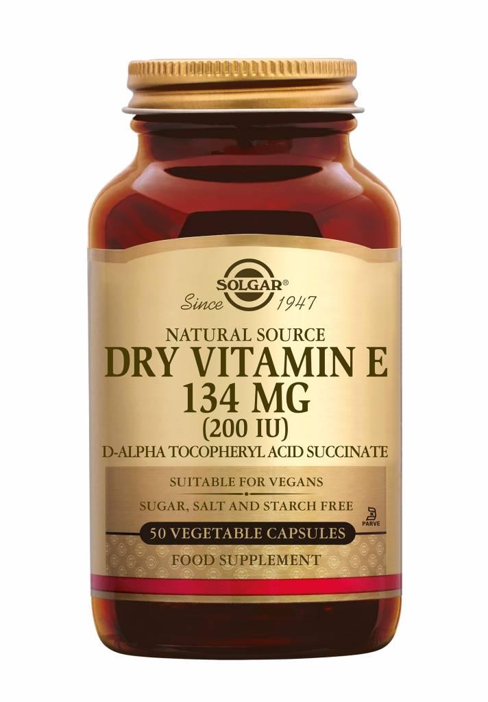 Vitamin E 134 mg/200 IU Dry 50 plantaardige capsules-1