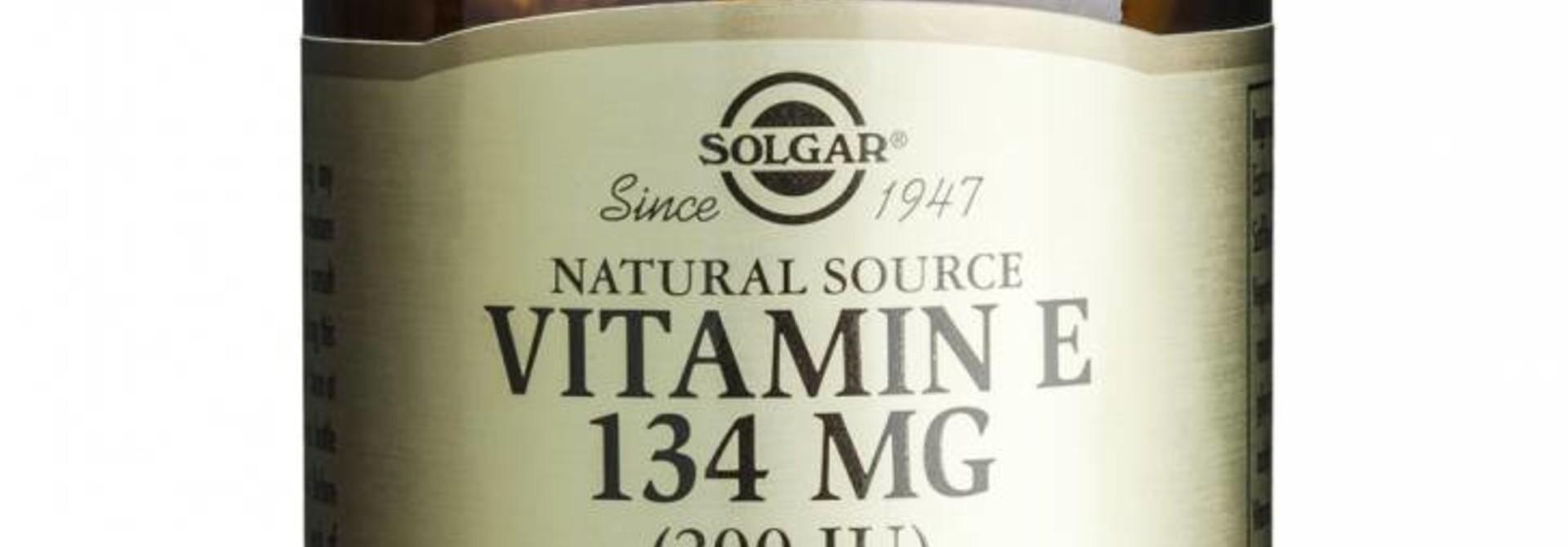 Vitamin E 134 mg/200 IU Vegan 50 plantaardige softgels
