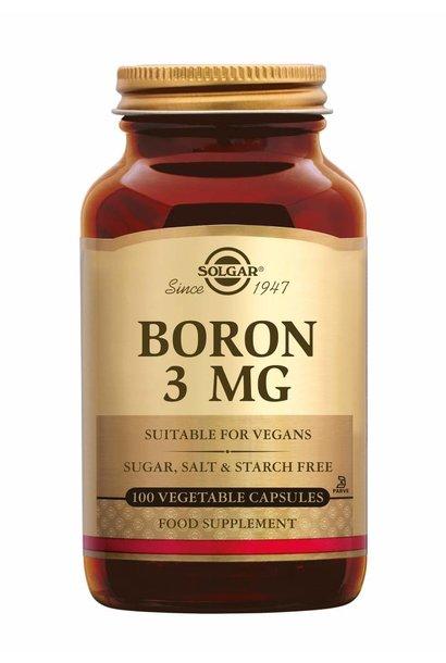 Boron 3 mg 100 plantaardige capsules