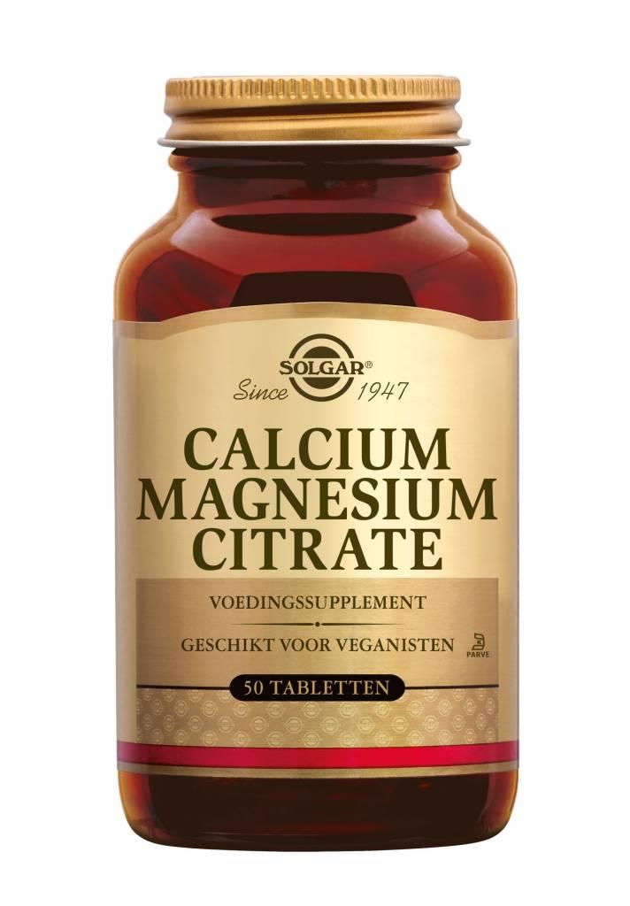 Calcium Magnesium Citrate 100 tabletten-1