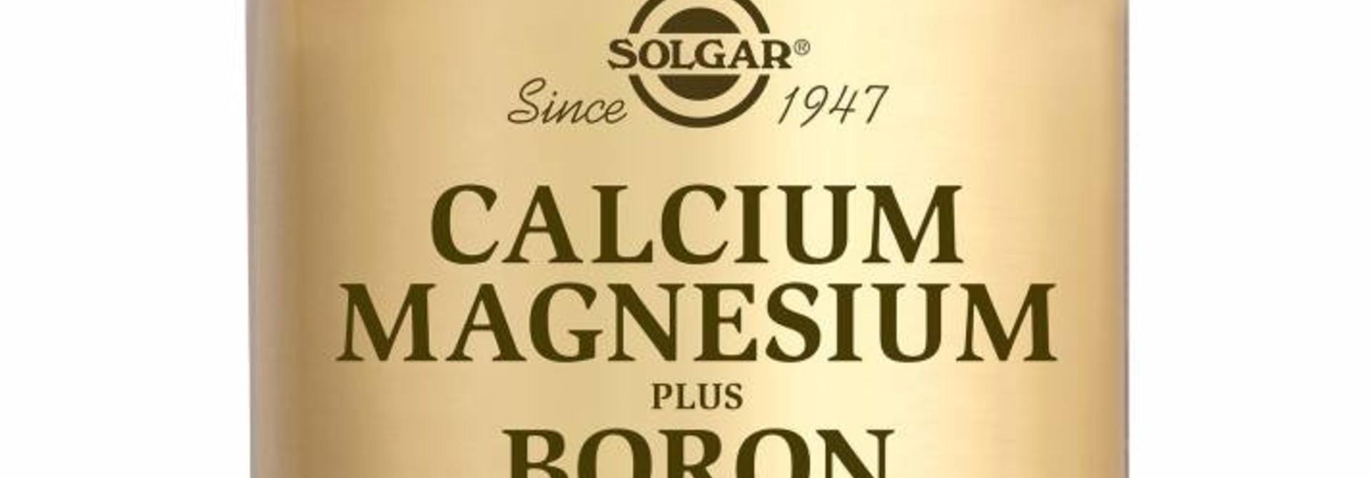 Calcium Magnesium plus Boron 100 tabletten
