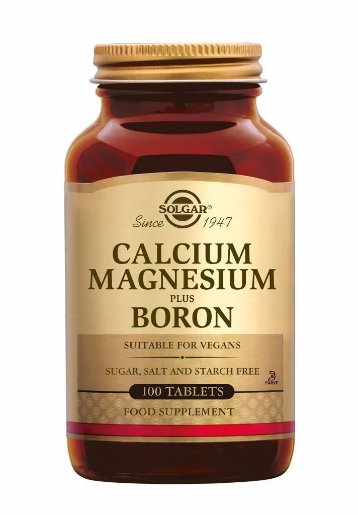 Calcium Magnesium plus Boron 100 tabletten-1