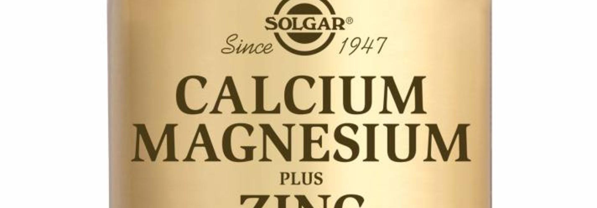 Calcium Magnesium plus Zinc 250 tabletten