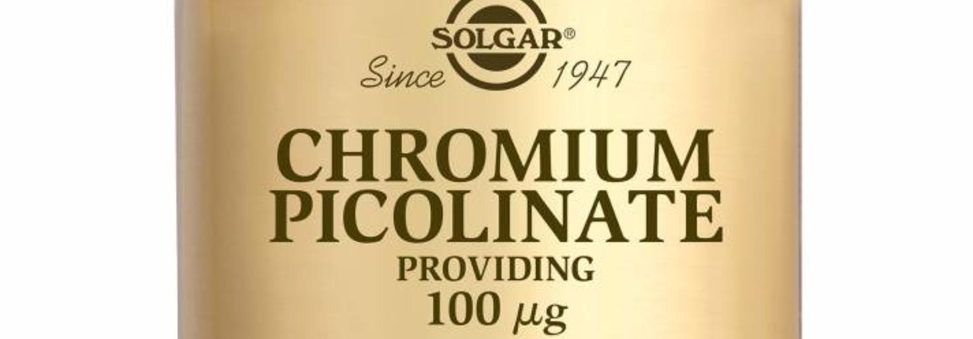 Chromium Picolinate 100 µg 90 tabletten