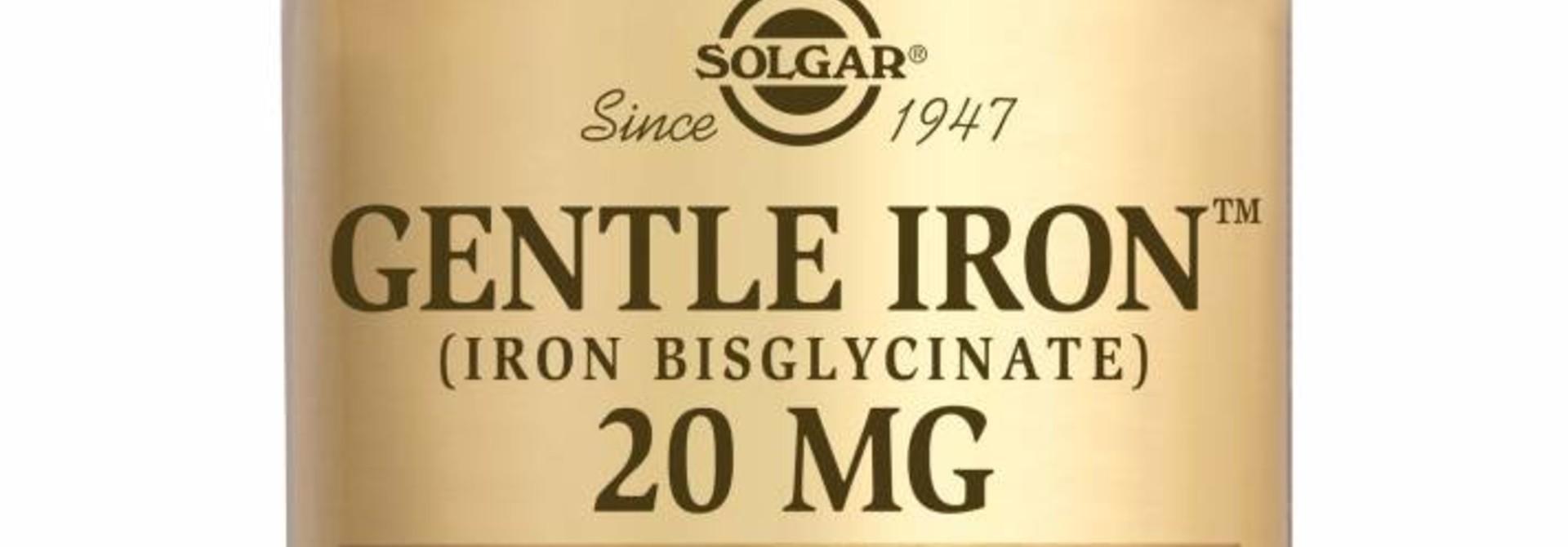 Gentle Iron 20 mg 180 plantaardige capsules
