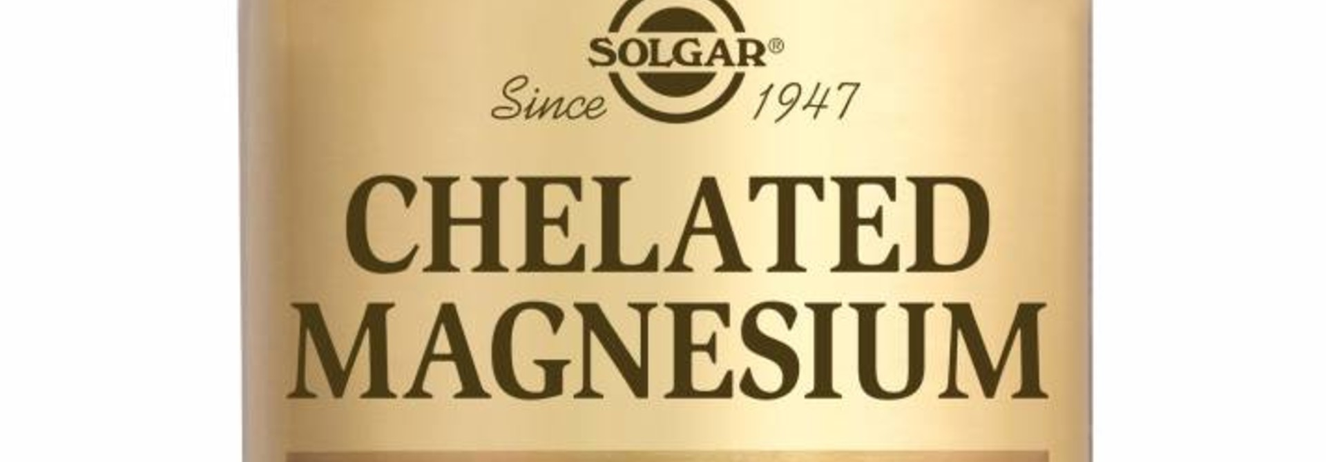 Chelated Magnesium 250 tabletten