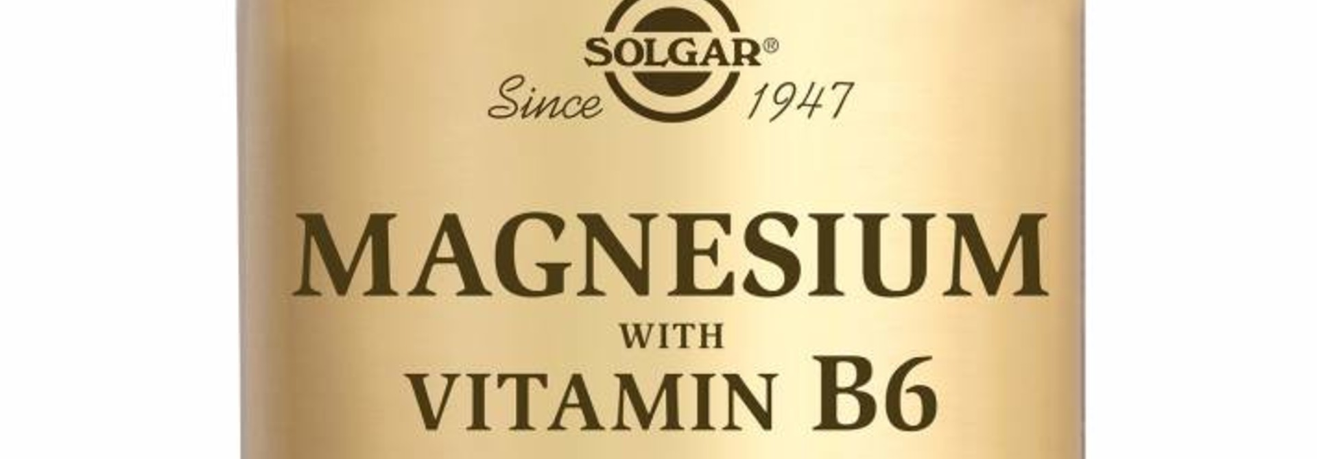 Magnesium with Vitamin B-6 250 tabletten