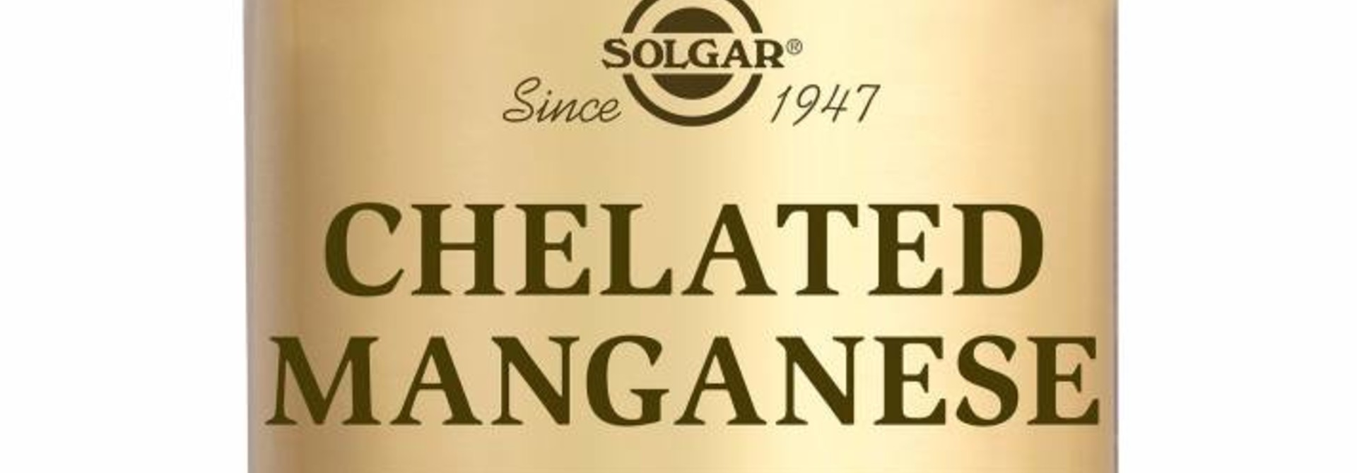 Chelated Manganese 100 tabletten