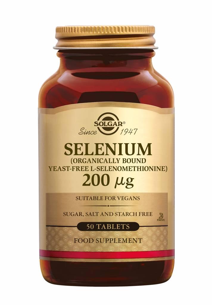 Selenium 200 µg 50 tabletten-1