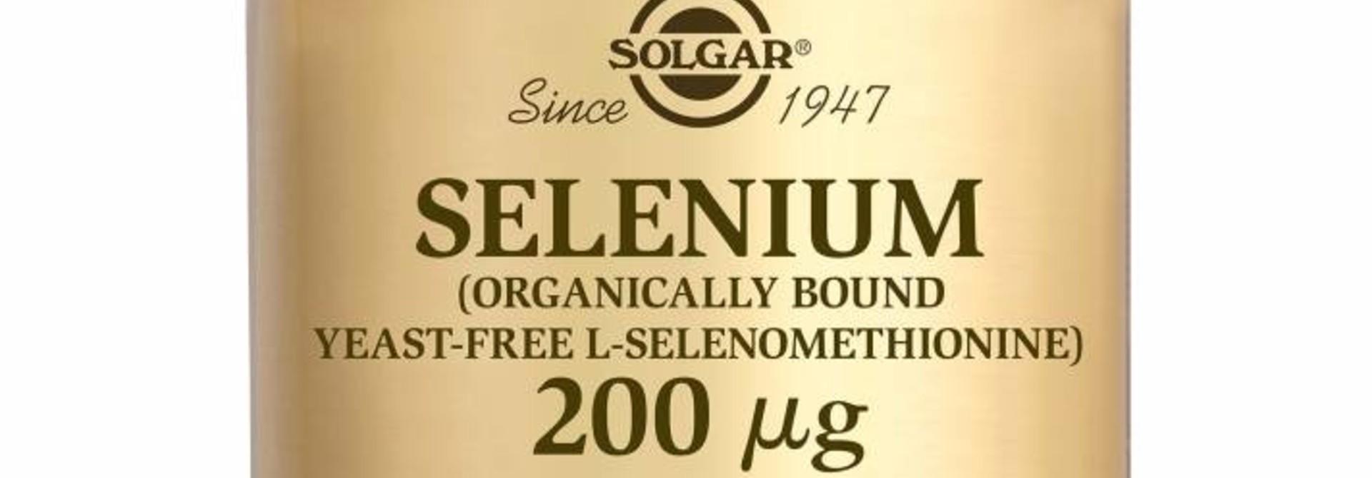 Selenium 200 µg 100 tabletten