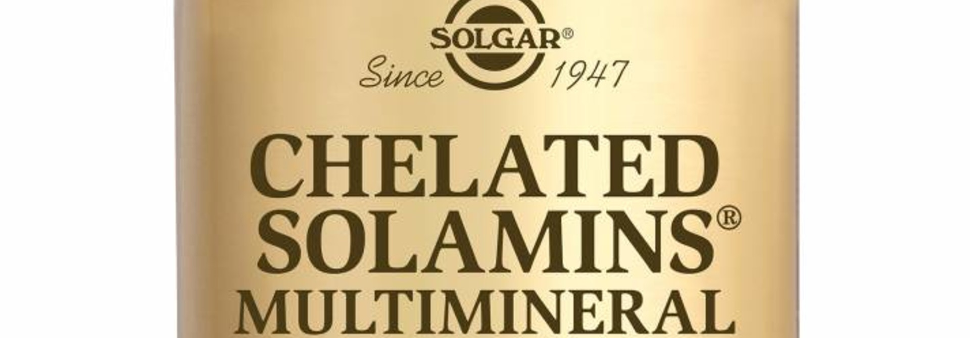 Chelated Solamins® Multimineral 90 tabletten