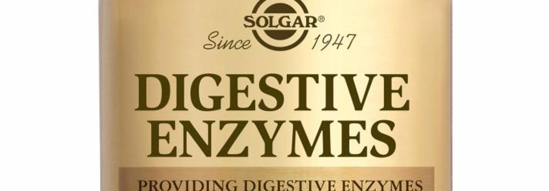 Digestive Enzymes 100 tabletten