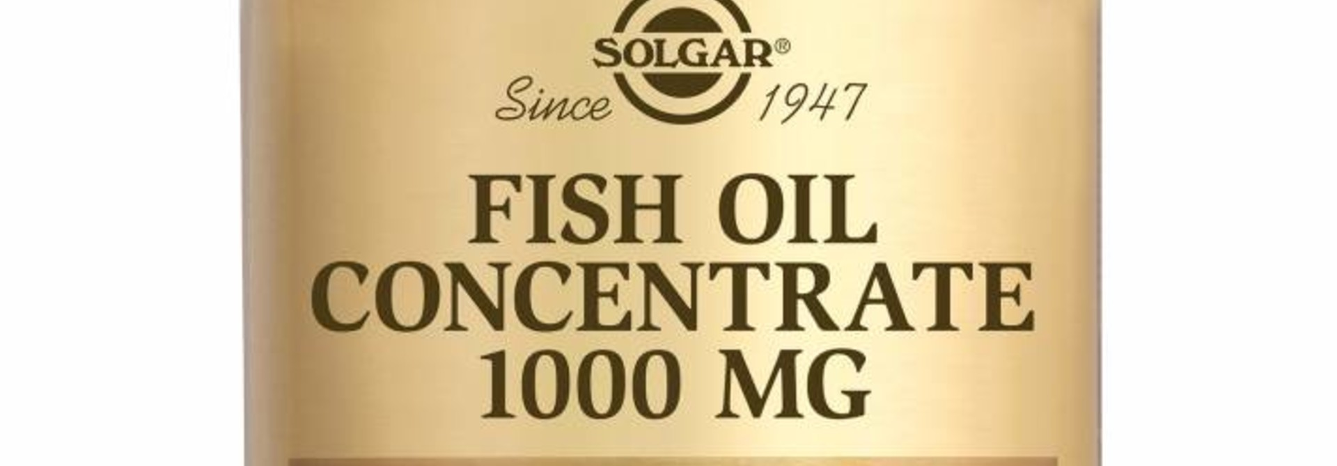 Fish Oil Concentrate 1000 mg 120 softgels