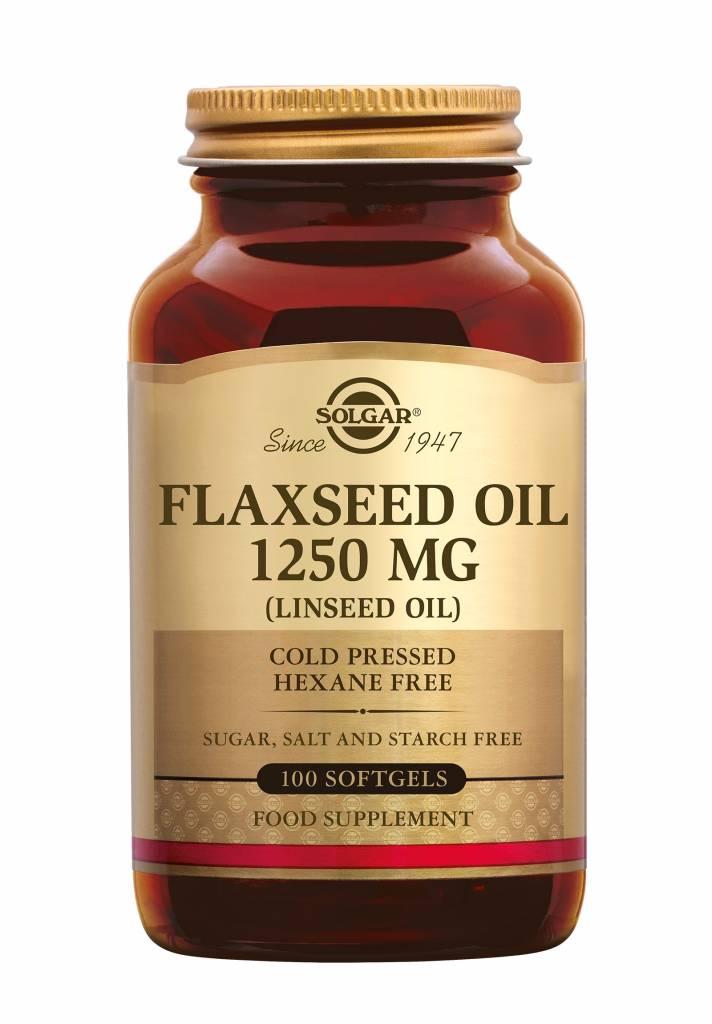 Flaxseed Oil 1250 mg 100 softgels-1