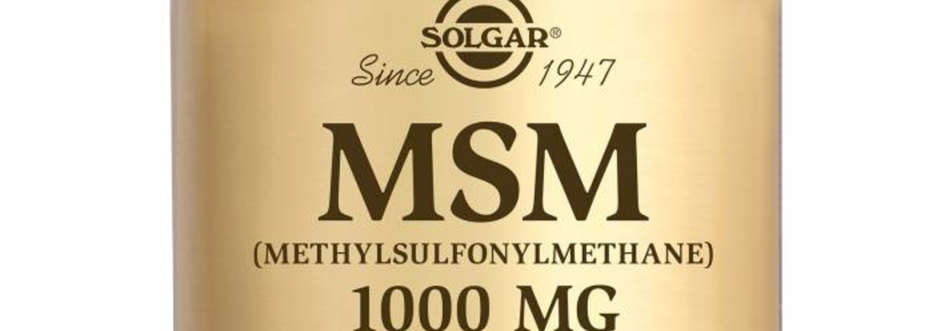 MSM 1000 mg 60 tabletten