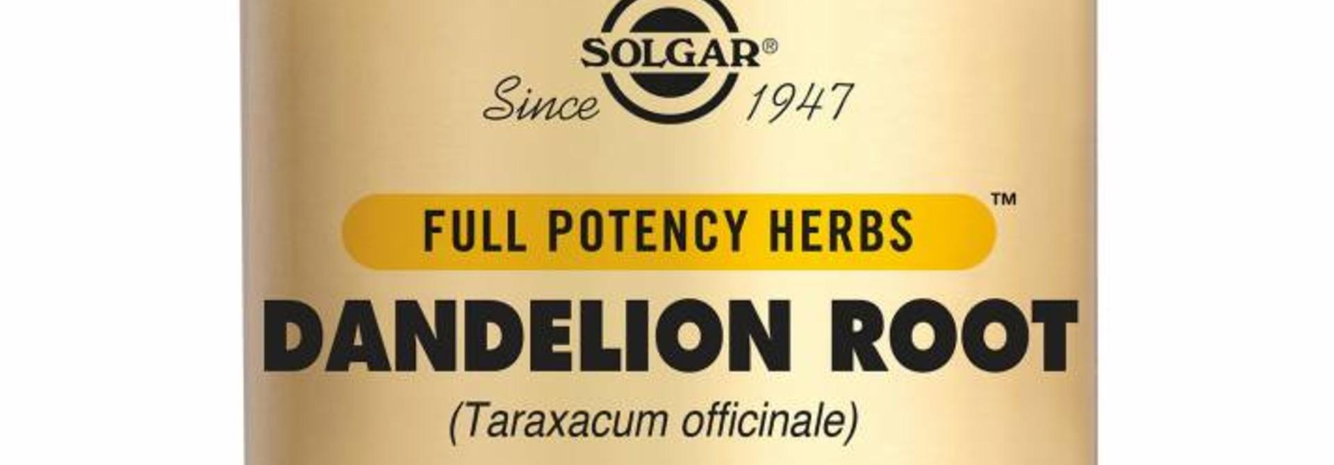 Dandelion Root 100 plantaardige capsules