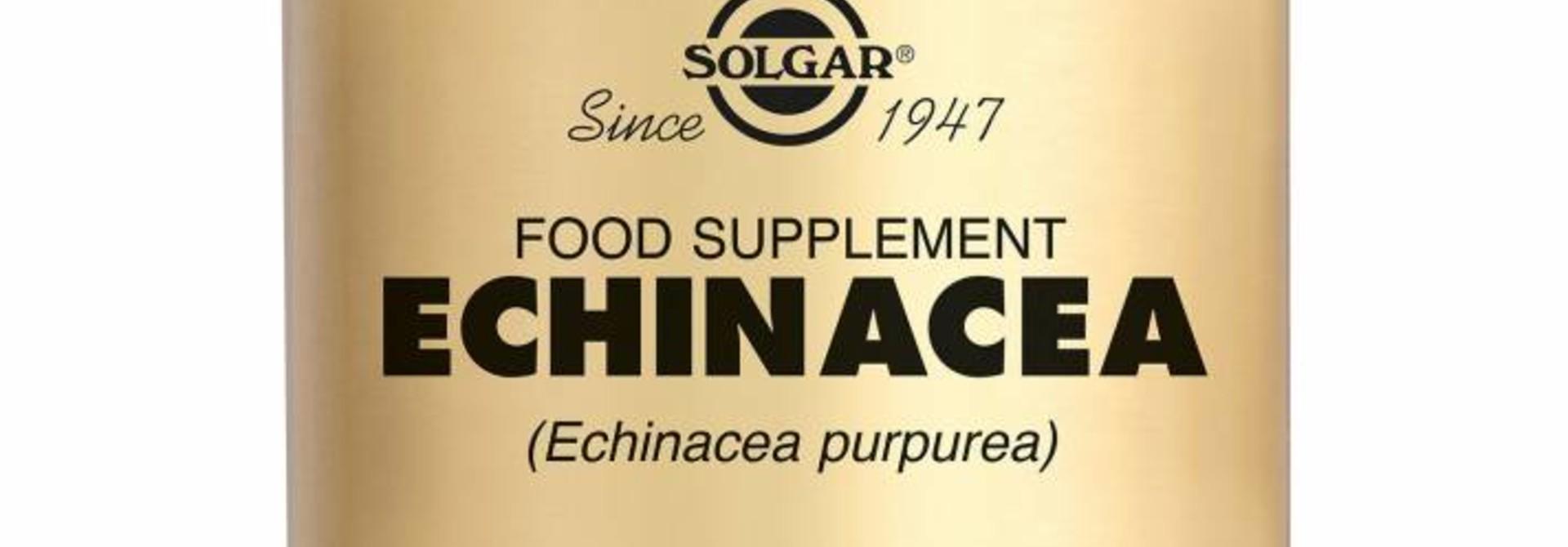 Echinacea 100 plantaardige capsules