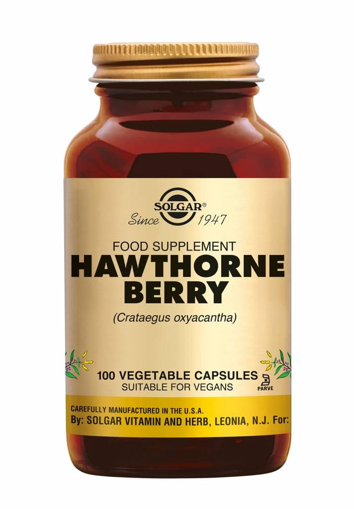 Hawthorne Berry 100 plantaardige capsules-1