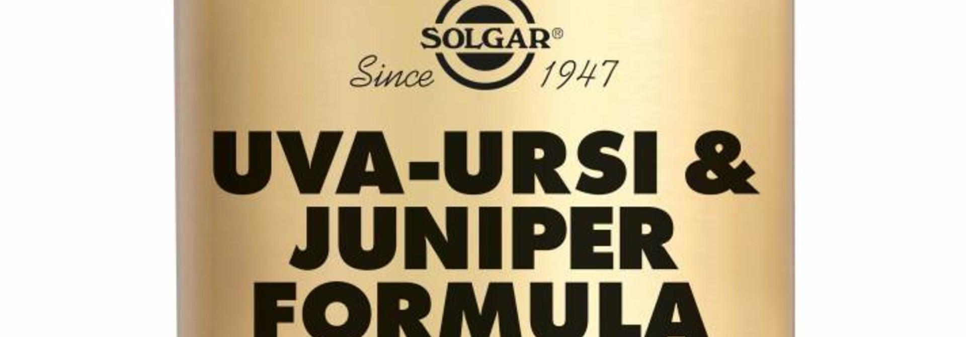 Uva Ursi & Juniper Formula 100 plantaardige capsules