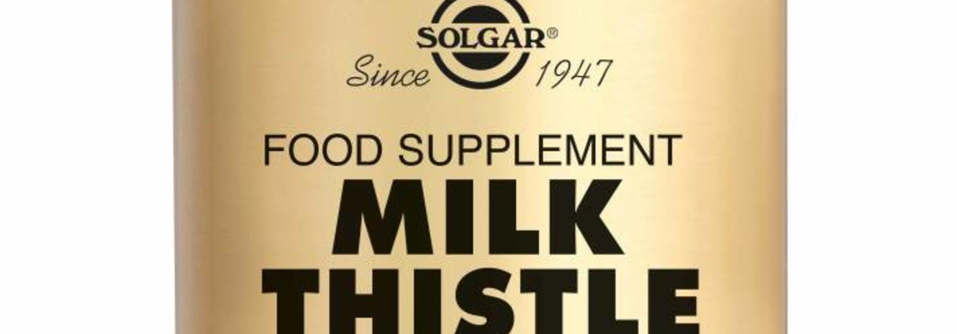 Milk Thistle 50 plantaardige capsules