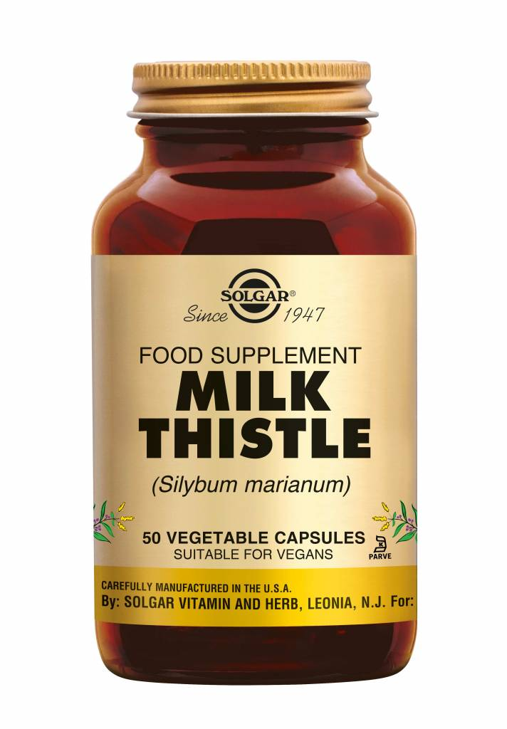 Milk Thistle 50 plantaardige capsules-1