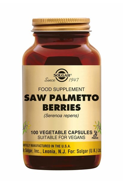 Saw Palmetto Berries 100 plantaardige capsules