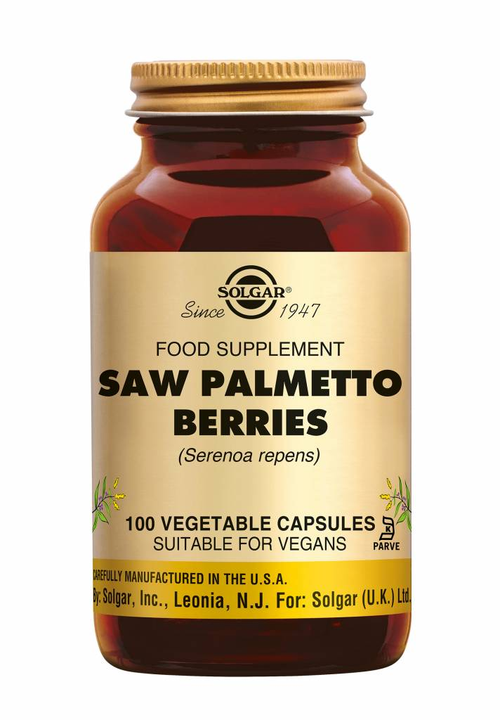 Saw Palmetto Berries 100 plantaardige capsules-1