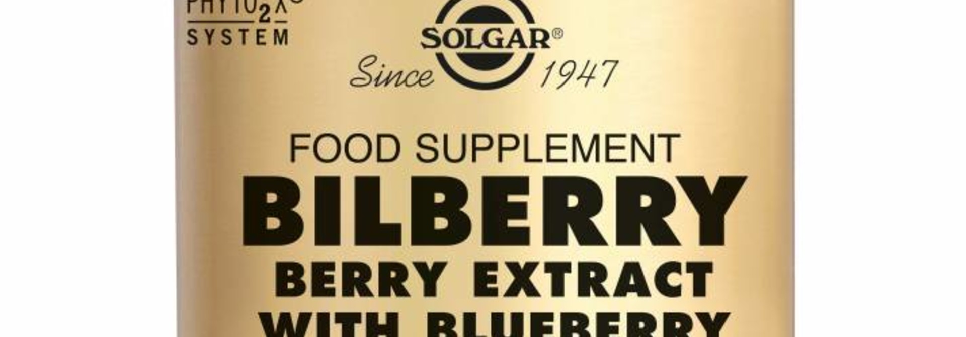 Bilberry Berry Extract 60 plantaardige capsules