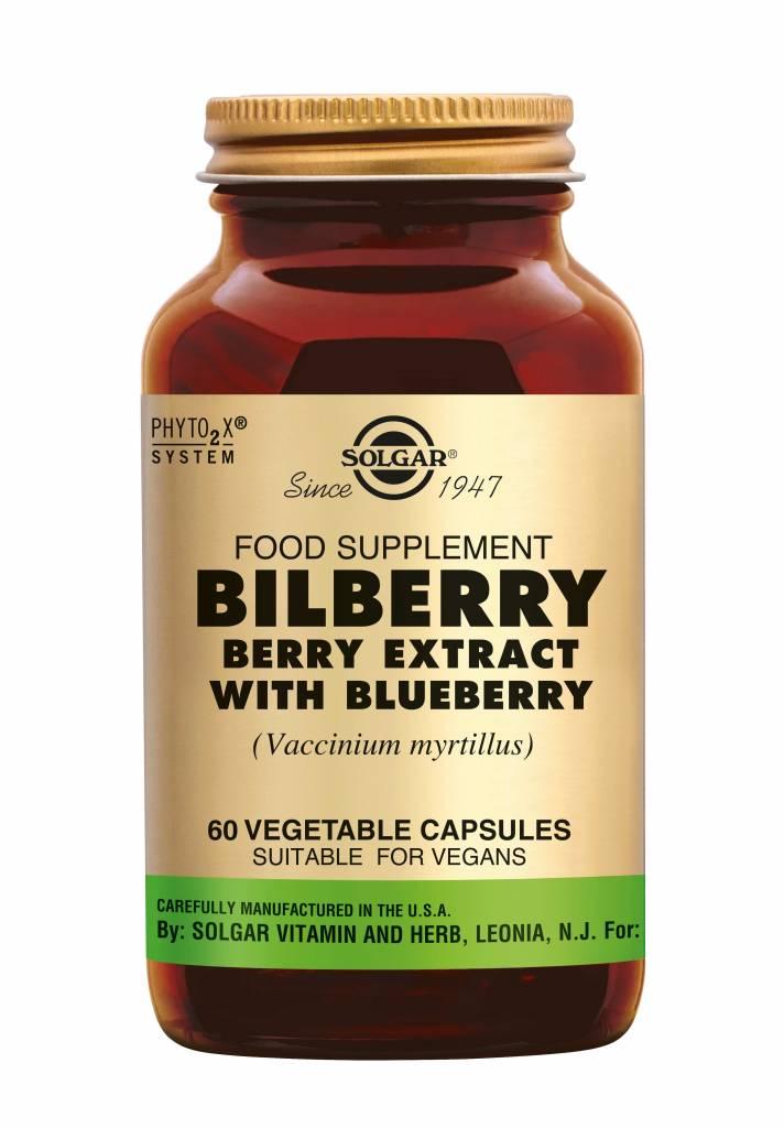 Bilberry Berry Extract 60 plantaardige capsules-1