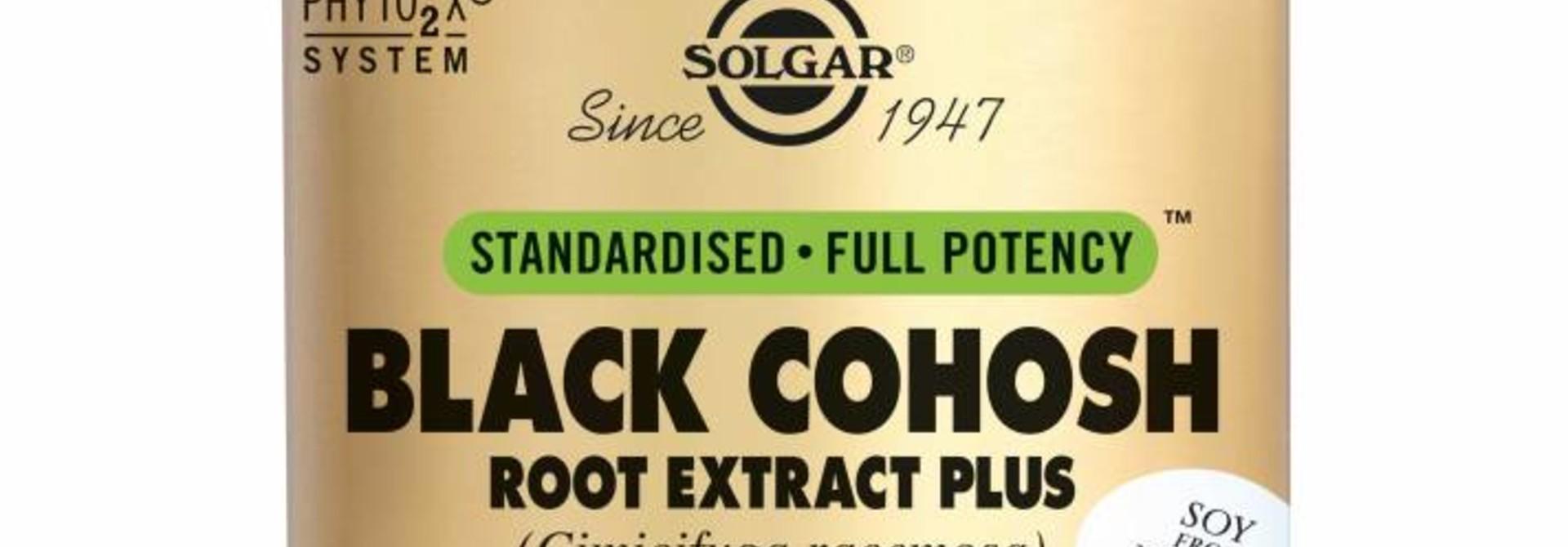 Black Cohosh Root Extract Plus 60 plantaardige capsules