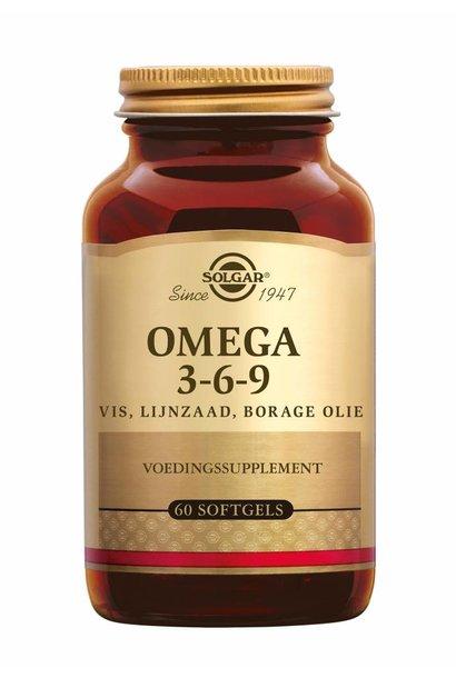 Omega 3-6-9 120 softgels