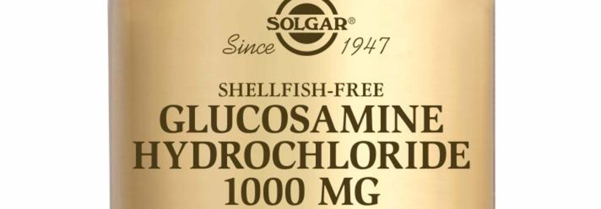 Glucosamine HCl 1000 mg 60 tabletten