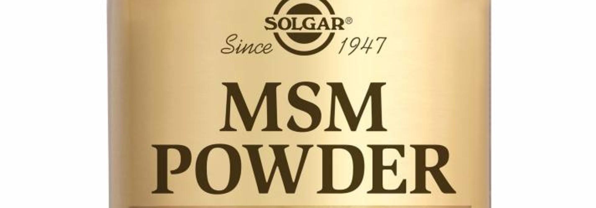 MSM Powder 226 gram poeder