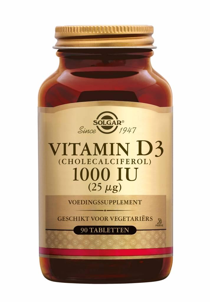Vitamin D-3 1000 IU/25 µg tablet 90 tabletten-1
