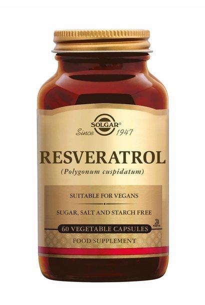 Resveratrol 60 plantaardige capsules